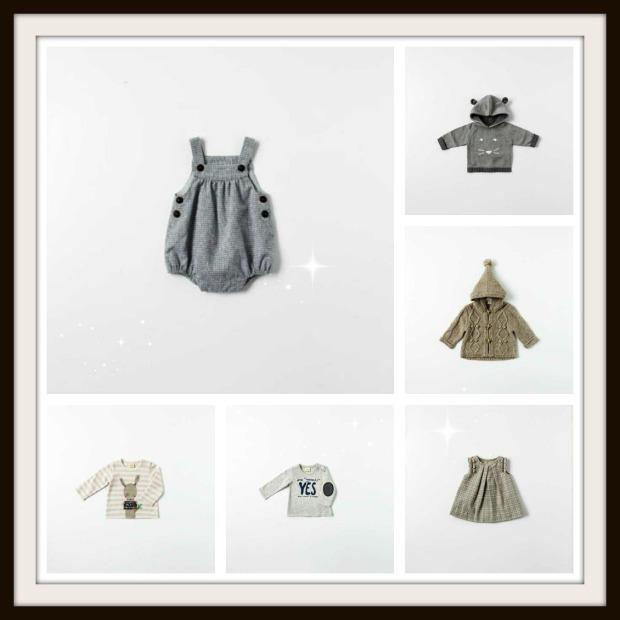 zara mini collage con cornice