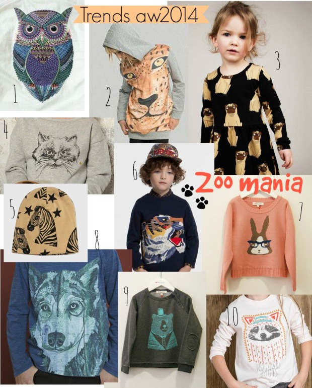 trends stampa animali