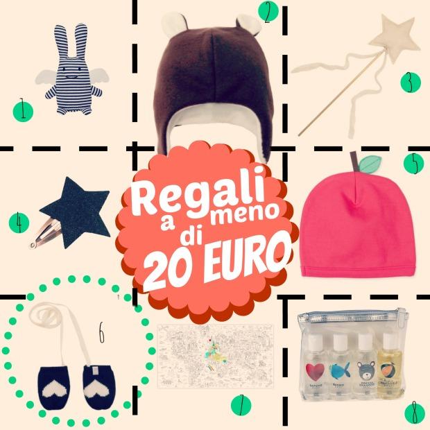 regali a meno di 20 euro