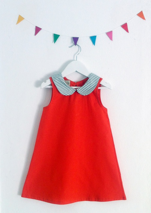 dreamer dress- red